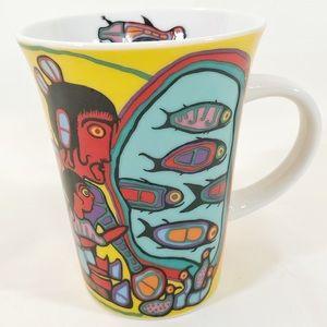 "💙2/$20💙 Aboriginal Art Mug ""Looking Through..."""